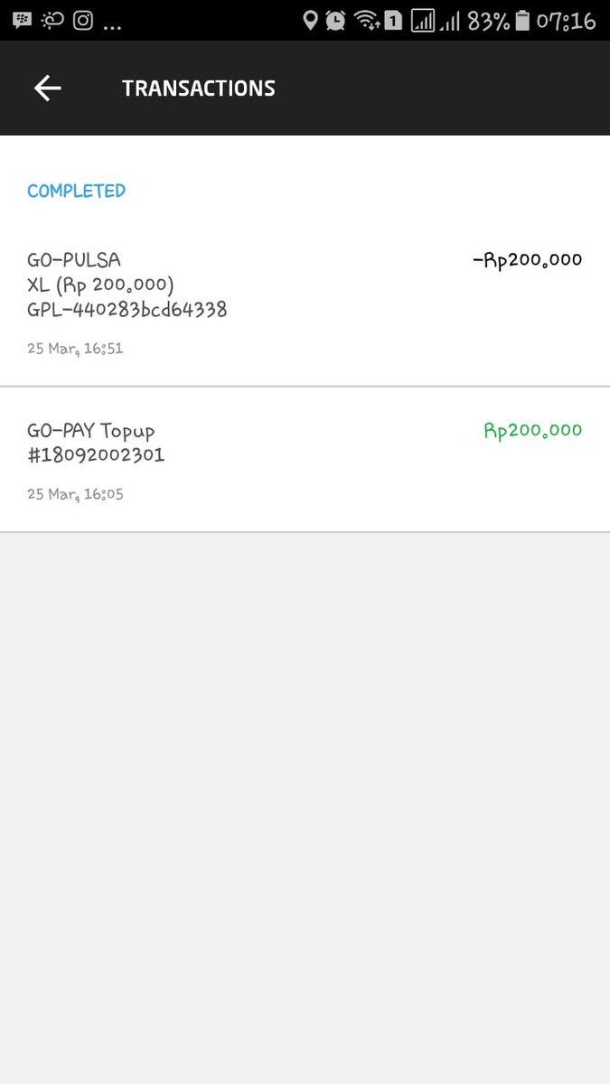 Gojek Indonesia On Twitter Kami Informasikan Untuk Proses Withdraw Saldo Go Pay Customer Adalah 2 X 24 Jam Di Hari Dan Jam Kerja Dan Tidak Termasuk Sabtu Minggu Setelah Selesai Transaksi Tks Cha