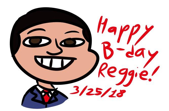 Happy birthday to Reggie Fils-Aimé, the best President ever!!