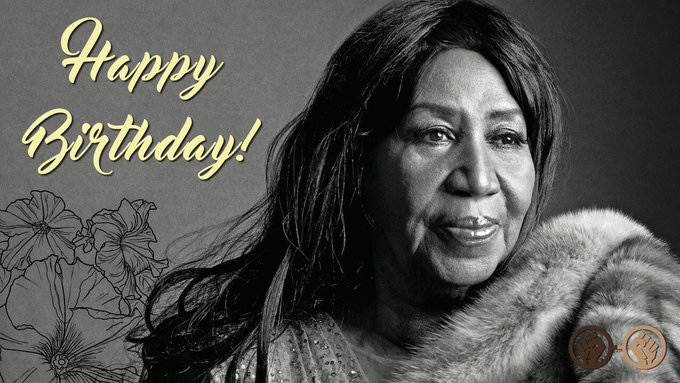 Have some R-E-S-P-E-C-T and help us wish Aretha Franklin a happy birthday! The Queen of Soul turns 76 today!