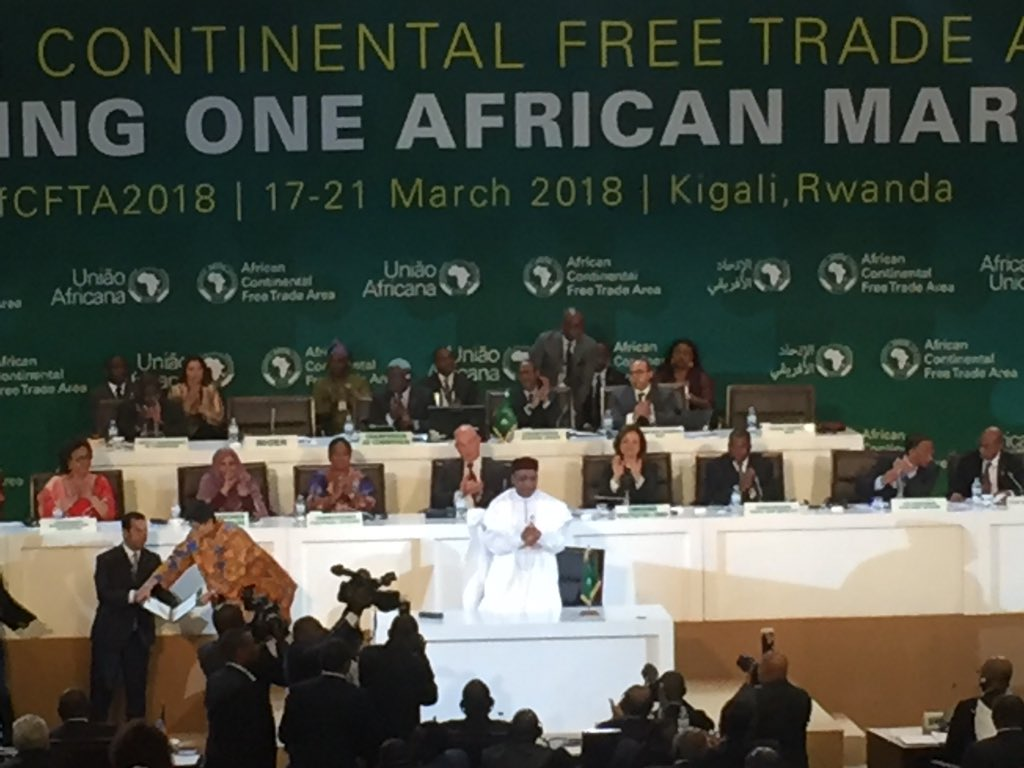 Mining Shared Value On Twitter Last Week 44 African States Signed