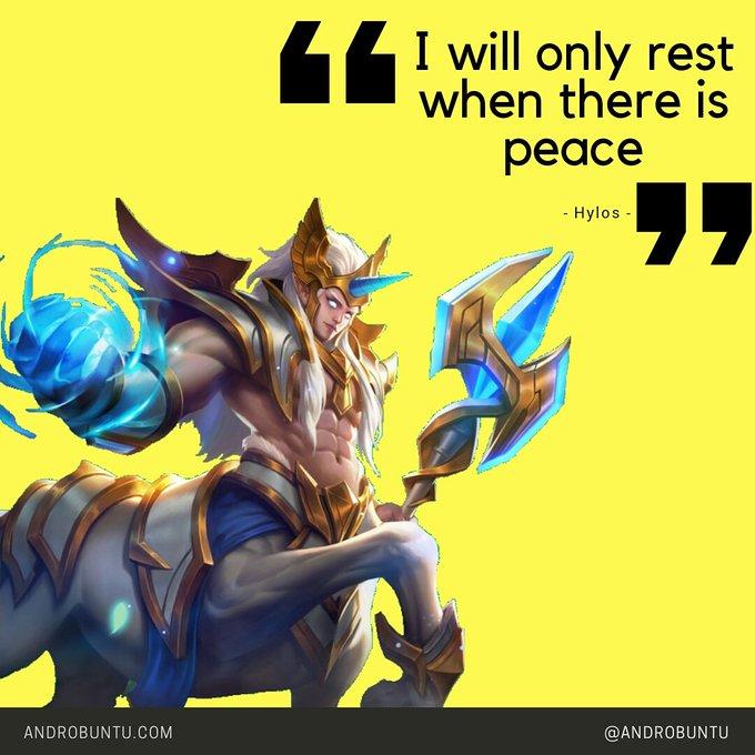 Kata-kata inspiratif hero Mobile Legends. - Chirpstory