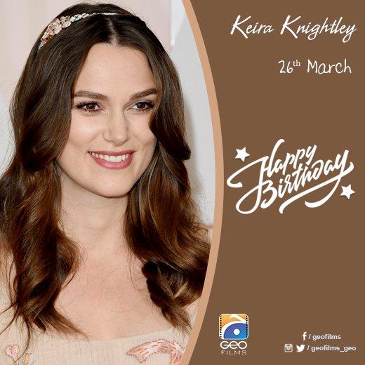 Happy Birthday Keira Knightley!