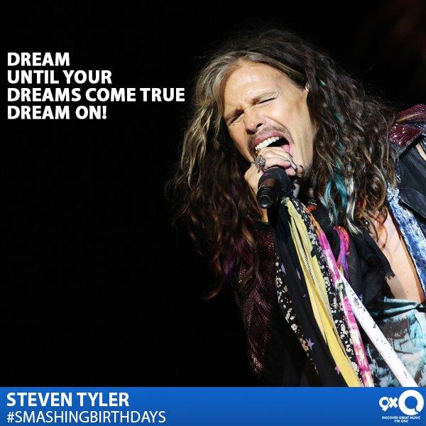 Rock veteran, Steven Tyler celebrates his today! Happy Birthday Steve!