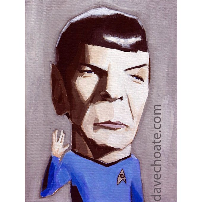 Happy Birthday to Leonard Nimoy.
