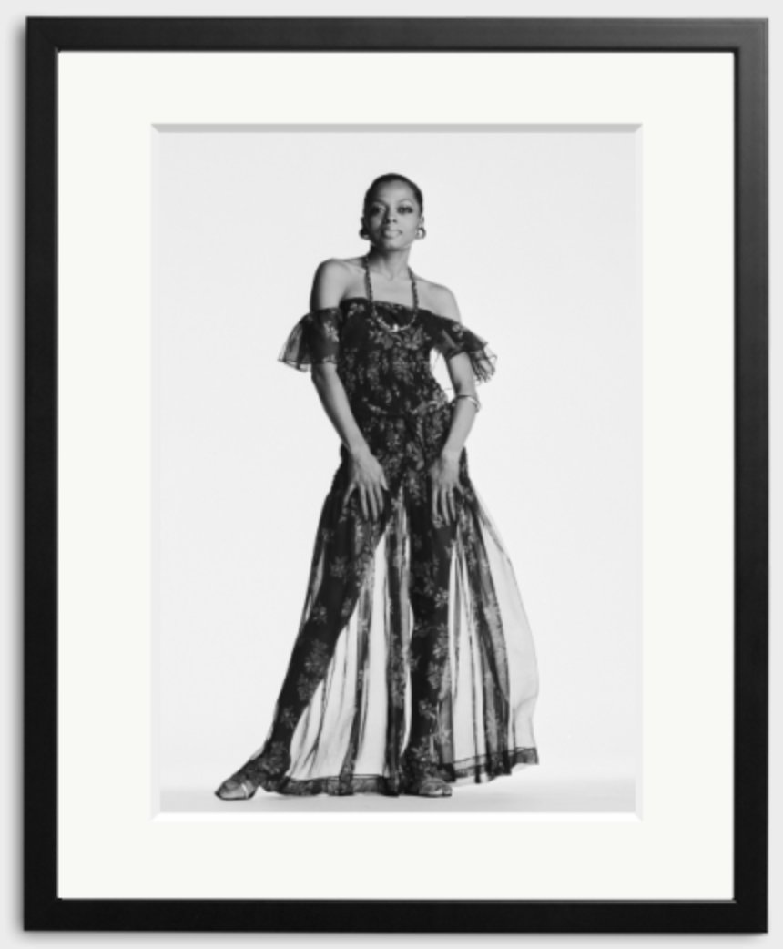 Happy 74th Birthday to Diana Ross - photographed here by Terry O\Neill in 1975.