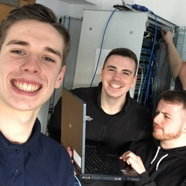 Be like Blair, Andrew, Leigh and Ewan - have fun while gaining IT skills. Places still available at #Clydebank #Greenock #Paisley in #Computing #Networking #DigitalMedia #GamesDevelopment #TechnicalSupport #CyberSecurity #SoftwareDevelopment. Apply now at  http://www. westcollegescotland.ac.uk/courses/course -directory/courses/computing-games &nbsp; … <br>http://pic.twitter.com/aDU3OQP88J
