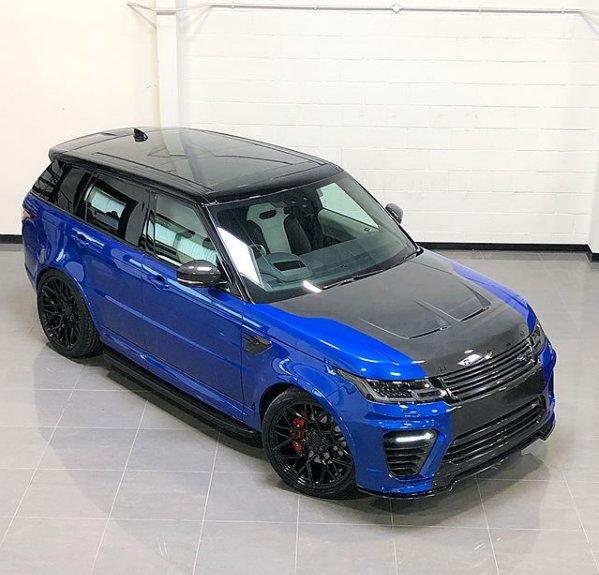 Urban Automotive On Twitter   U0026quot Velocity Blue Range Rover