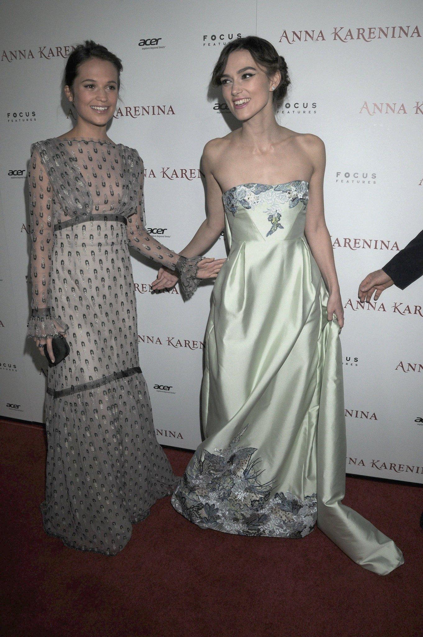 Happy 33rd birthday to princess keira knightley! love you anna karenina los angeles premiere, 2012.