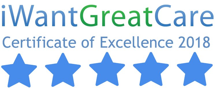 Certificate of excellence 2018 iwgc