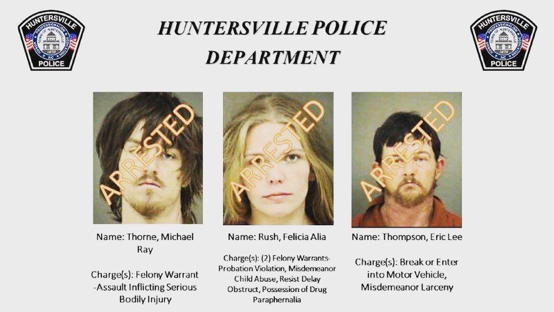 Huntersville Police on Twitter: