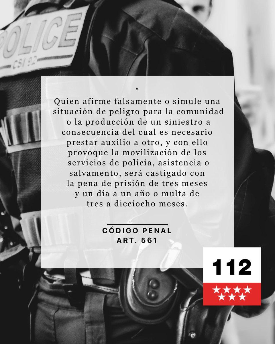 112 Comunidad Madrid On Twitter Madrid112 Es Un Teléfono Para La