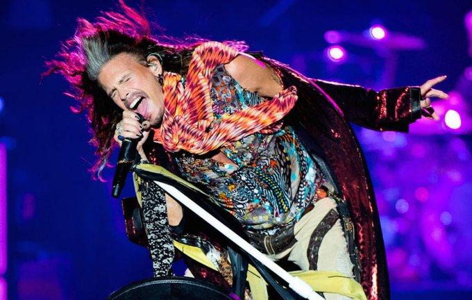 Happy 70th Birthday to Aerosmith legend, Steven Tyler!