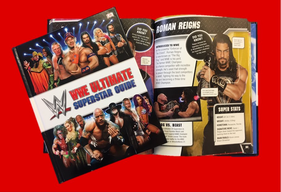 The @WWE Ultimate Superstar Guide covers the first clash between @WWERomanReigns & @BrockLesnar. Who will prevail at #WrestleMania34?