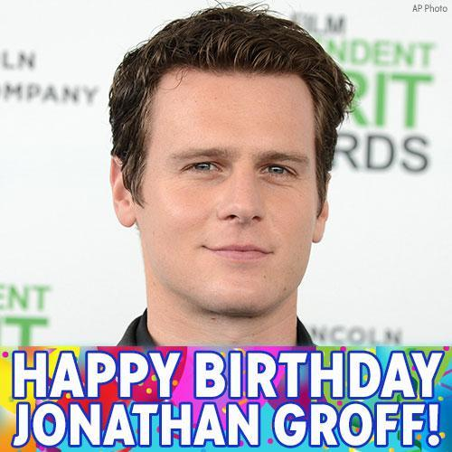 Happy Birthday to Jonathan Groff of and