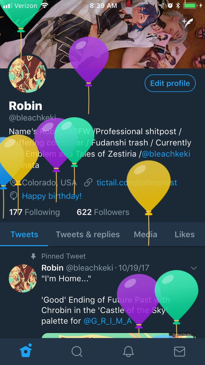 half birthday balloons