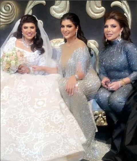 غدير السبتي تتزوج من أحمد الفردان في حفل فخم