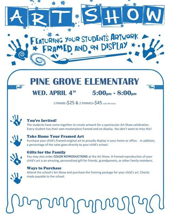 Grades K 6 Will Have One Piece Of Art Framed And On Display For Family Friends To View Purch Ifttt 2GwuLtX Pictwitter Qu9ZxO4C5p