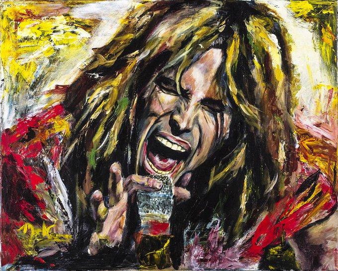 Happy birthday to Steven Tyler of Aerosmith!