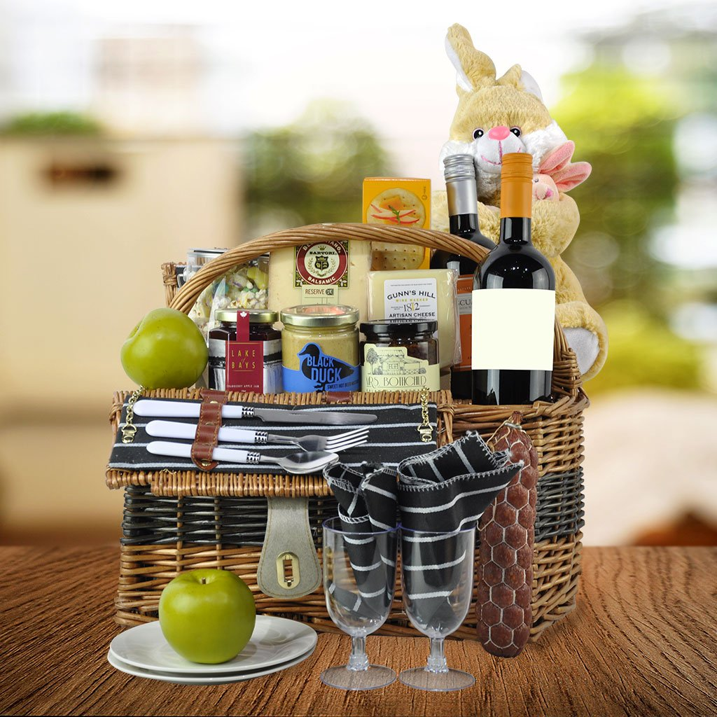 Hazeltons hazeltonsbasket twitter gift delightful gourmet decadence this easter with the easter orchard gourmet gift basket which is guaranteed delight that will leave your friends and negle Choice Image