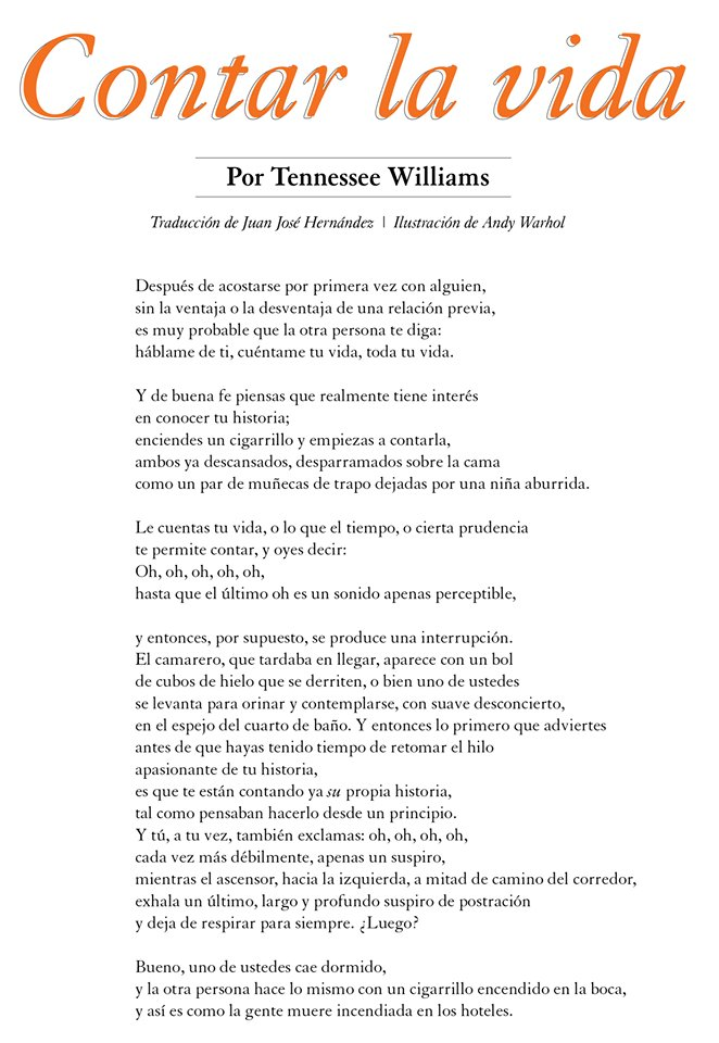 Marzo Nace Thomas Tennessee Lanier Williams Compartimos