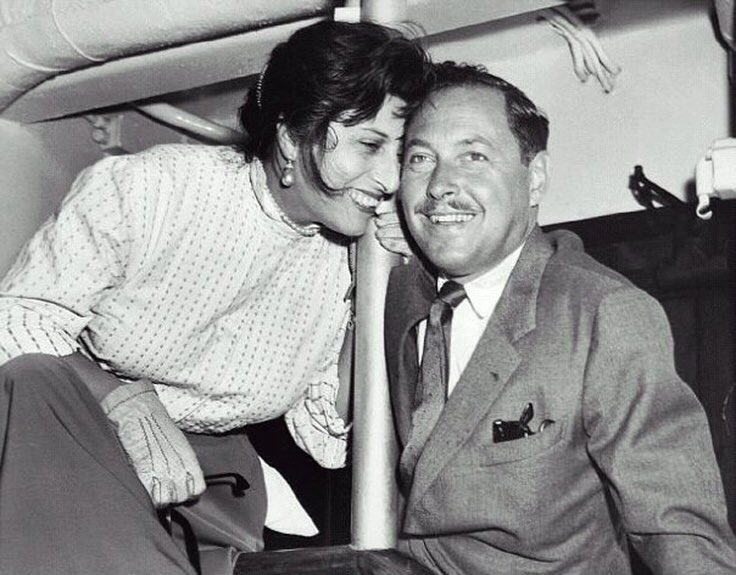 """Image result for anna magnani and tennessee williams"""""""