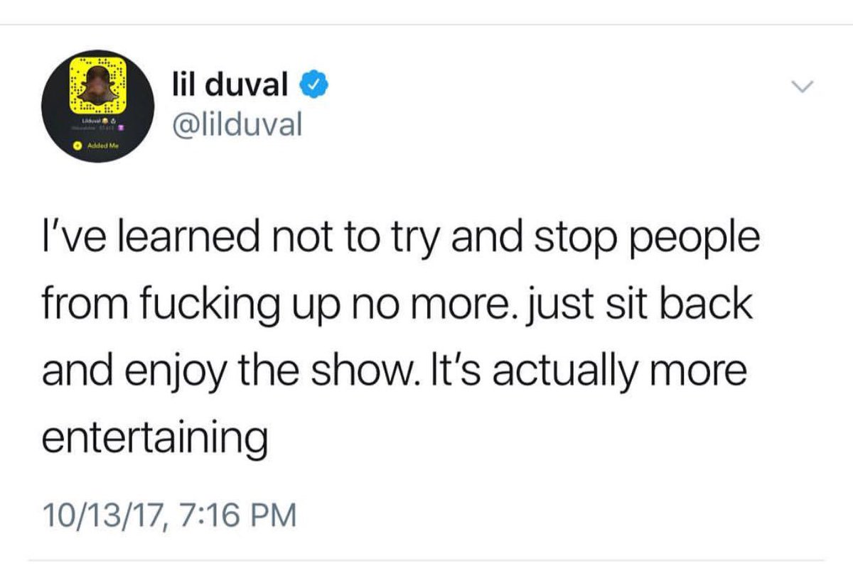 After @lilduval said this my life has been way easier. https://t.co/sqsI5HnolF
