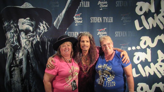 From one of your biggest fans, and our boss. Happy Birthday Steven Tyler