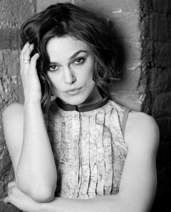 Keira Knightley, Happy Birthday in Black & White