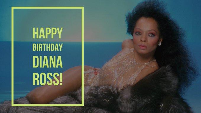 Happy 74th Birthday, Diana Ross!