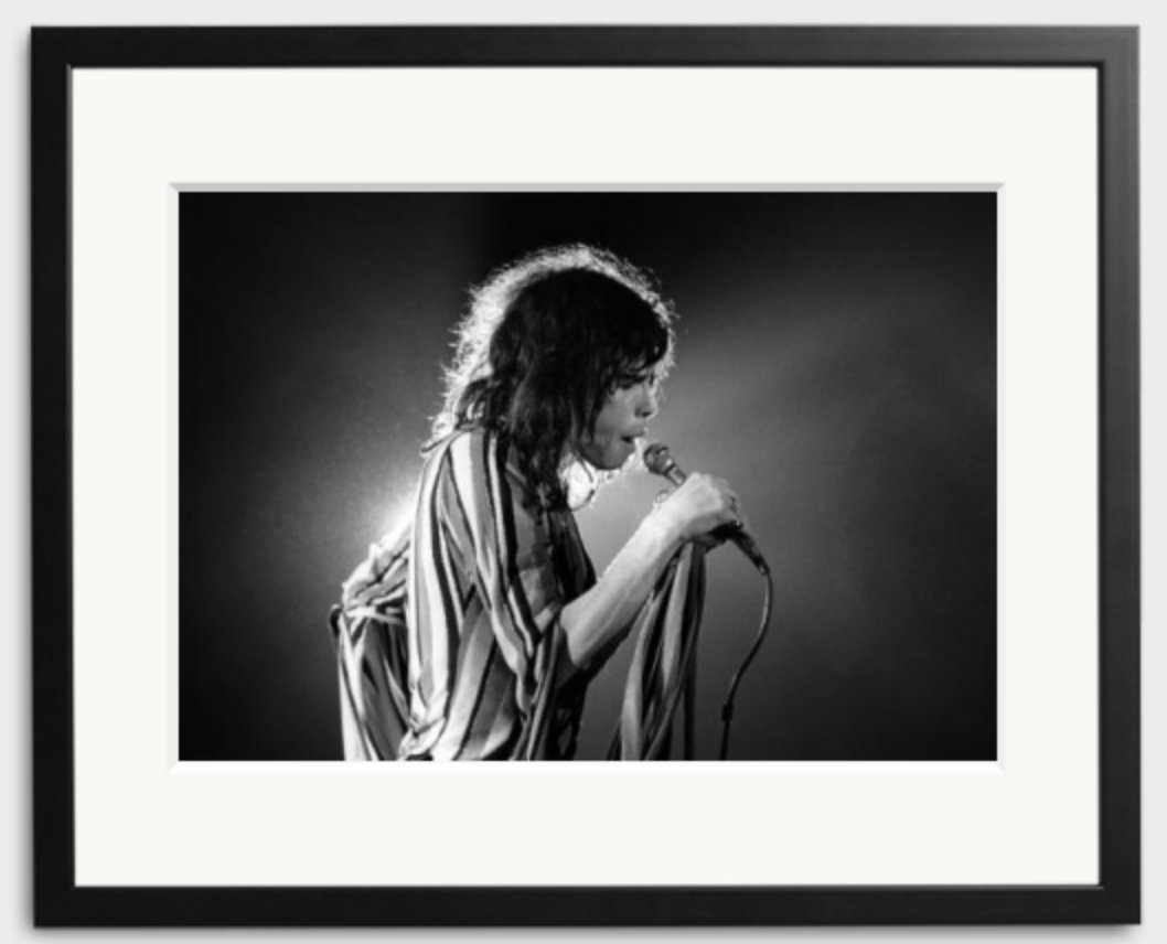 Happy Birthday to Steven Tyler - photographed by Fin Costello in 1975.