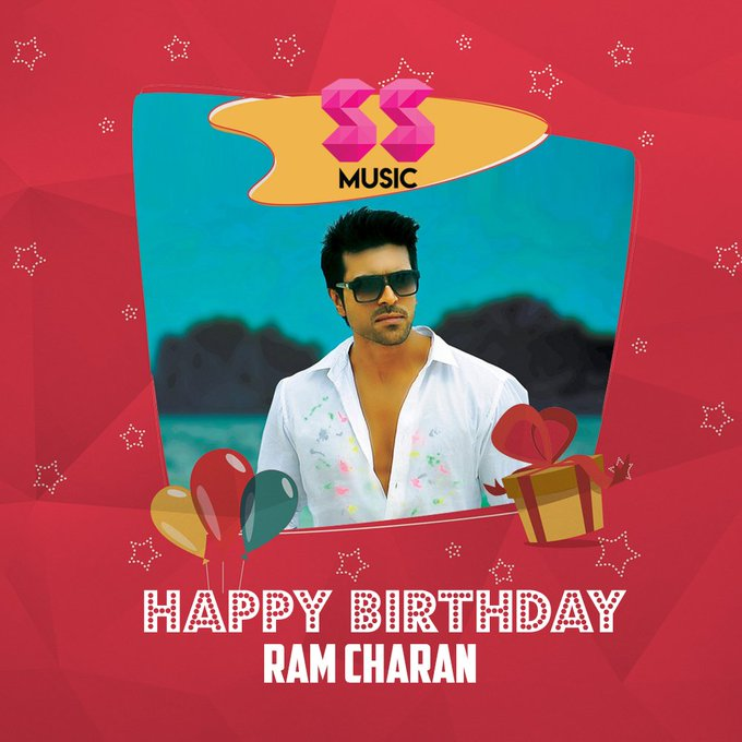 Wishing a very Happy Birthday to Ram Charan !!