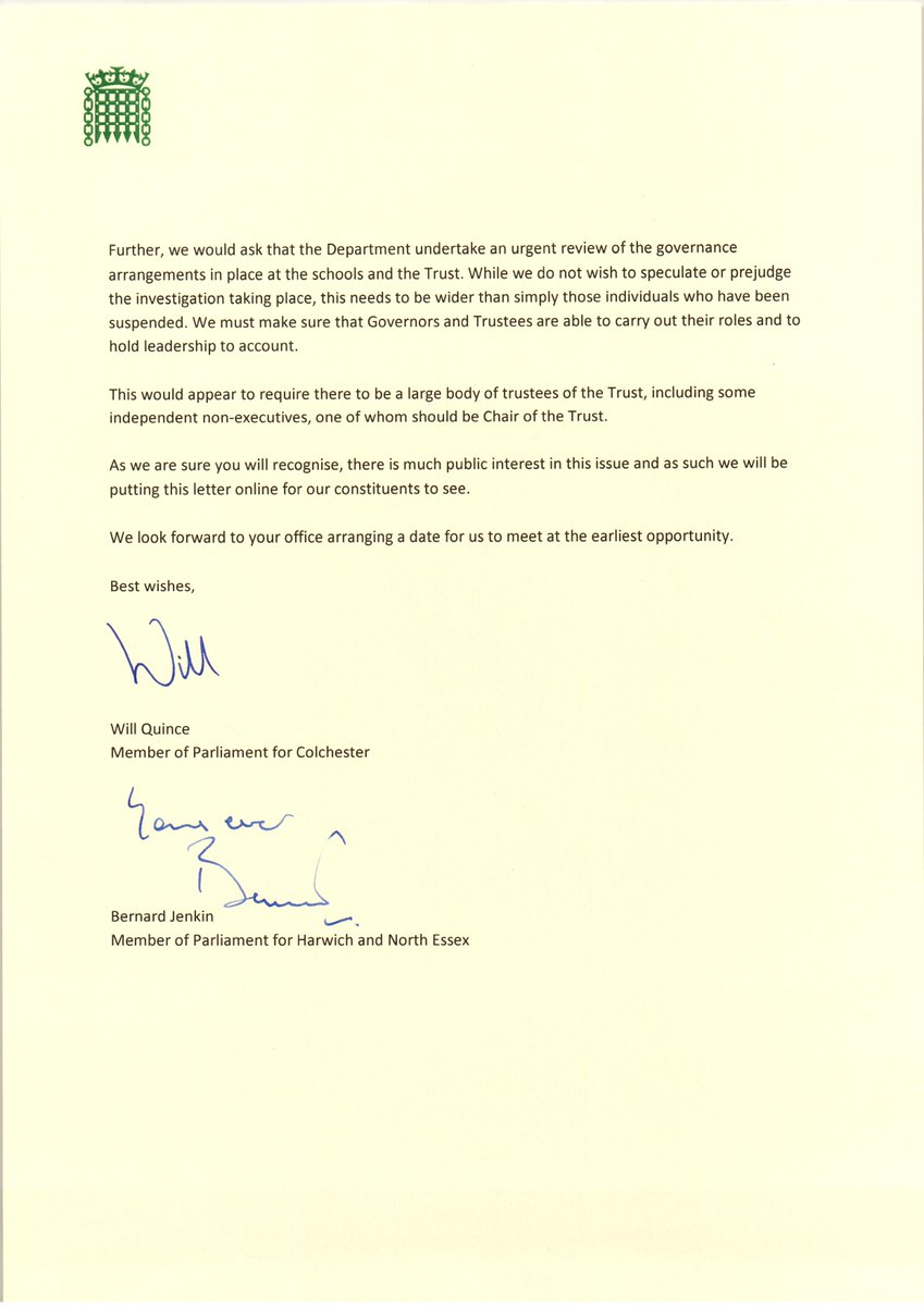 Will quince mp on twitter joint letter with bernard jenkin mp to academy trust philip morant school college and the colne community school college and requesting an urgent meeting picitterxfeja7zil8 thecheapjerseys Gallery