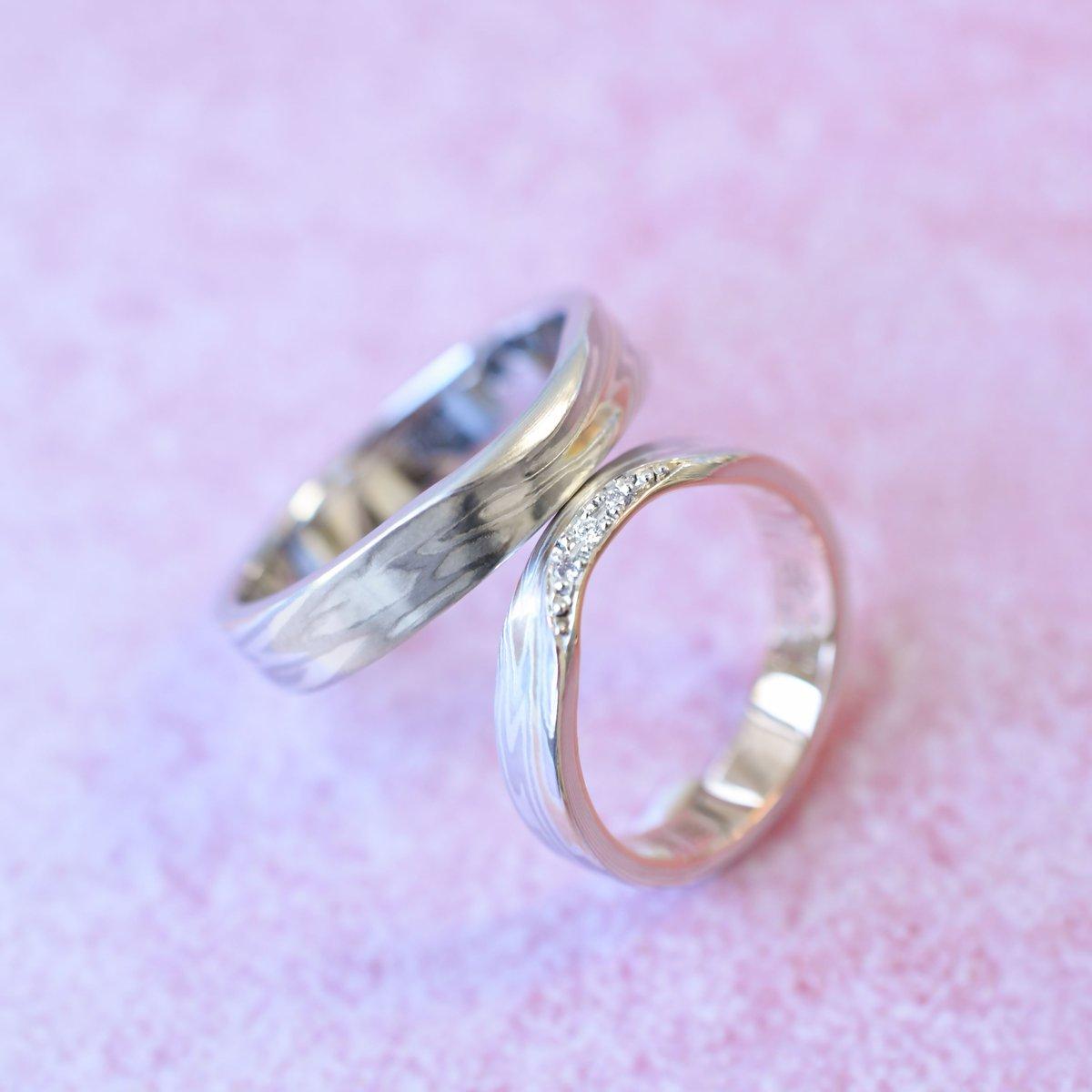 Visit Our Website Smokumeganeyae Mokumeganeya Bridal Wedding Weddingring Bridalring Ringpictwitterkrxrpakm: Red String Wedding Rings At Reisefeber.org