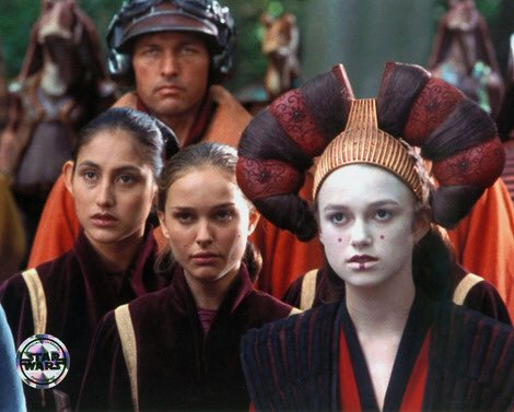 Happy birthday to Keira Knightley who played Natalie s body double in the phantom menace.
