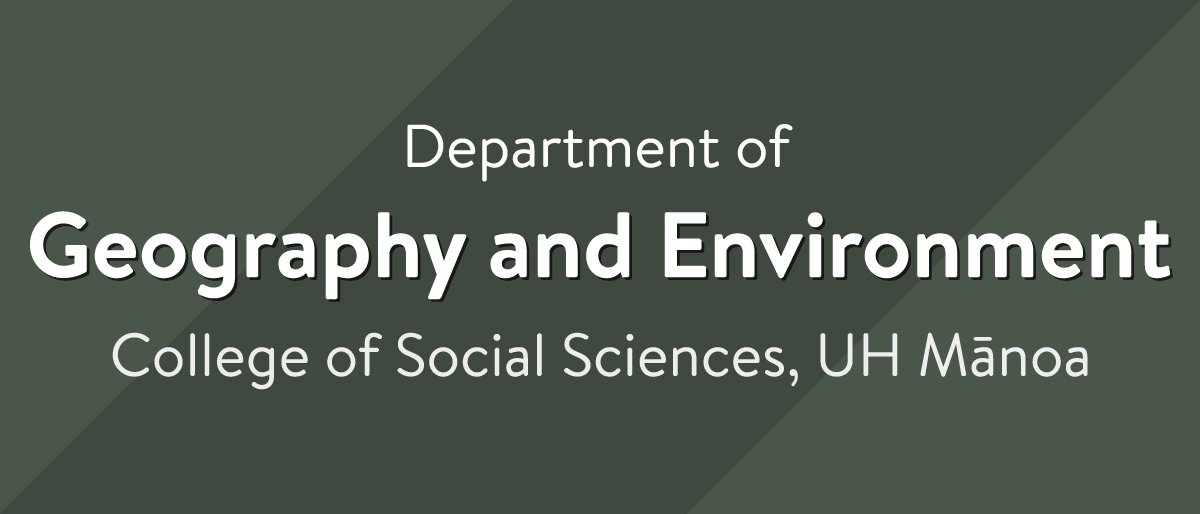 geography environment A captivating subject, geography is a scientific field that is devoted to the study of the earth's landforms, oceans, environment and ecosystems, as well as the interactions between the human society and their environment.