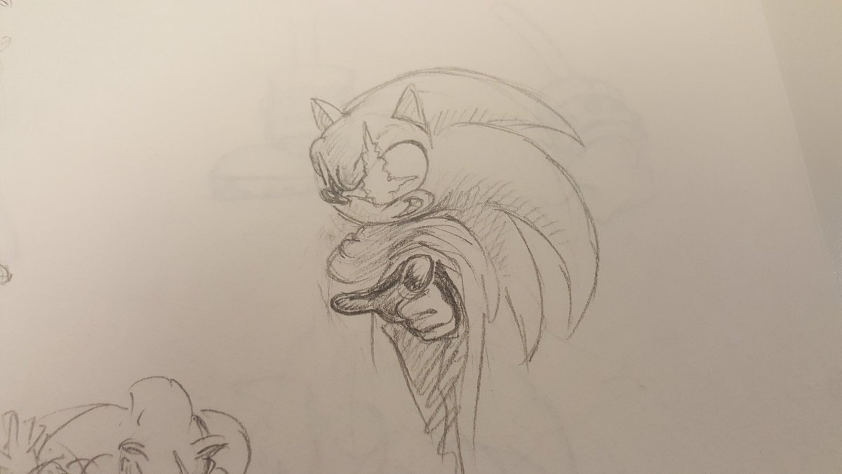 Sonic The Hedgehog On Twitter Happy Monday Here S Some Original Sonic Adventure 2 Concept Art Featuring An Early Look At Shadow And Rouge 1999 Https T Co 116k3aszua