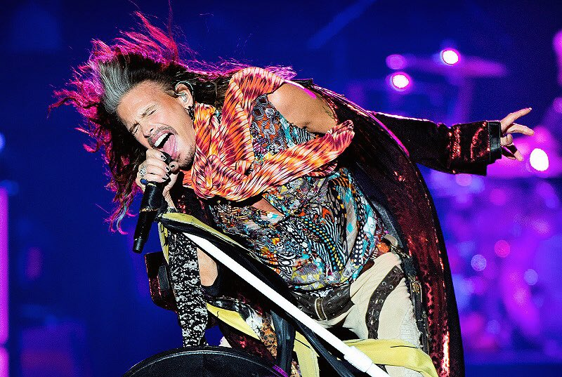 Happy 70th Birthday to one of the best live singers to ever do it, Steven Tyler!