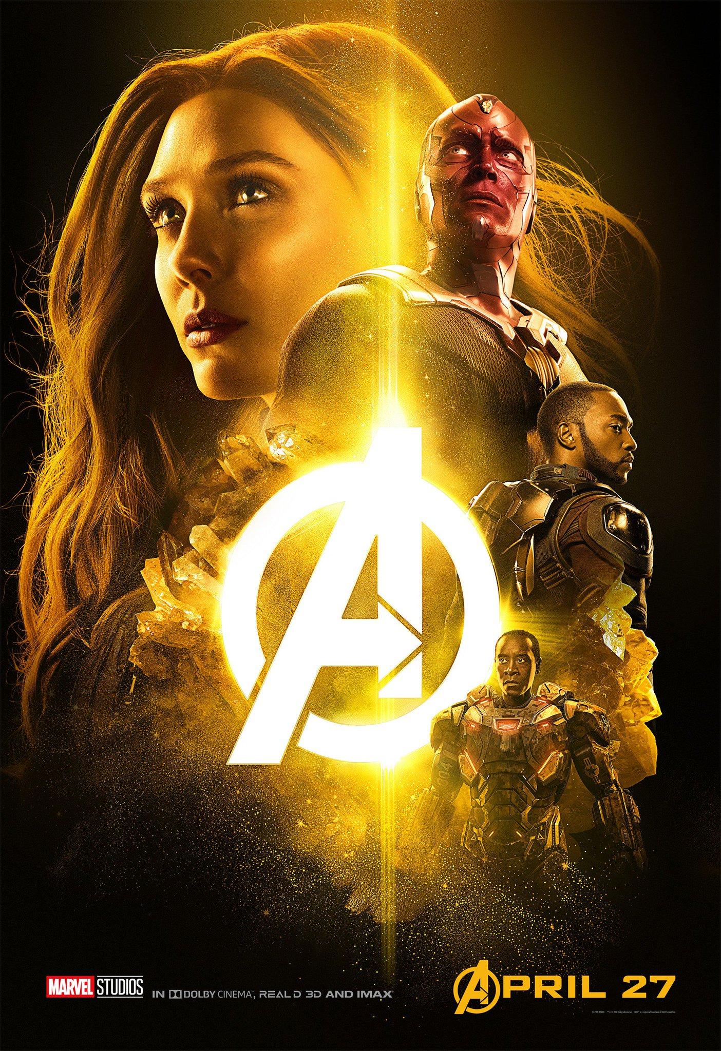 """""""We fight for all of them."""" Marvel Studios' 'Avengers: #InfinityWar' in theaters April 27th. https://t.co/Vp9vkvgKoa"""