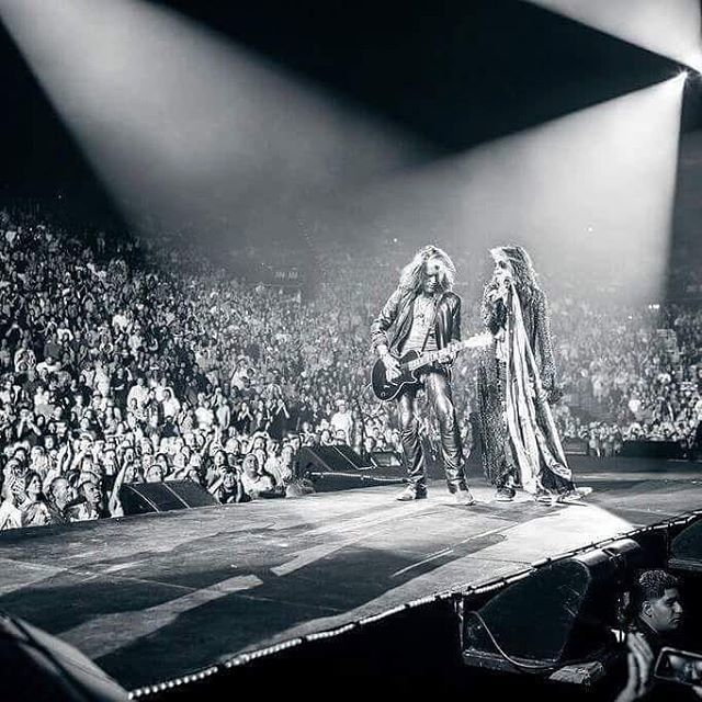 Happy birthday to the one and only Steven Tyler    (© Zach Withford)