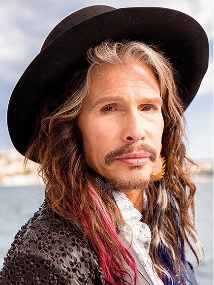 Happy 70th birthday Steven Tyler of Aerosmith, who now looks like a character offering advice on a side quest