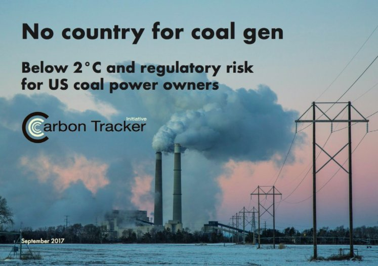 Carbon Tracker on Twitter: