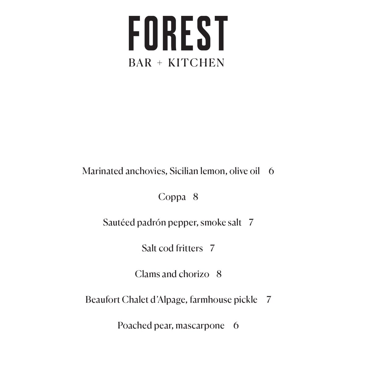 Forest Bar + Kitchen (@forestbarkitchn) | Twitter