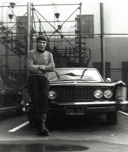 Happy birthday to Leonard Nimoy, the one and only Spock.