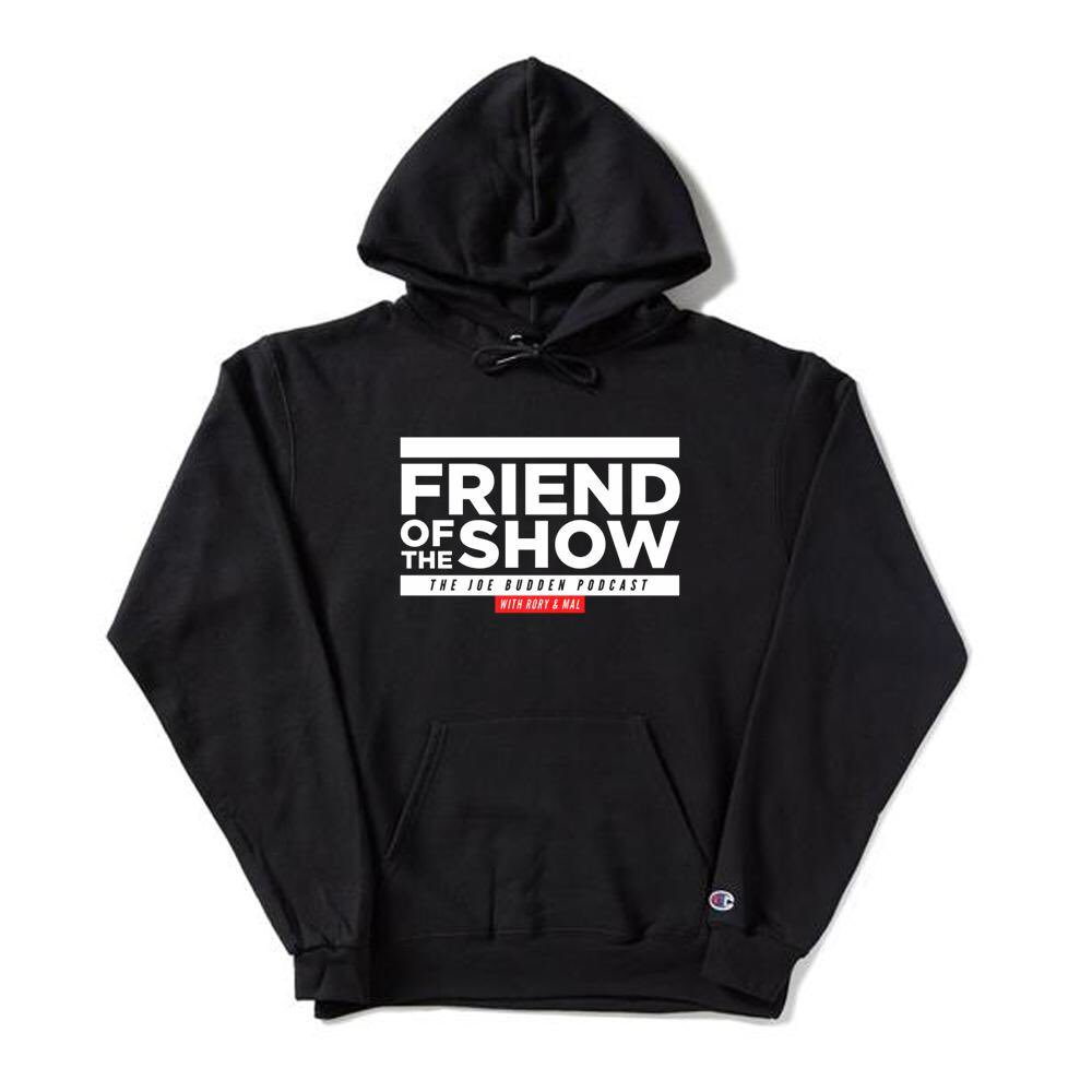 "f95e368fe68 NEW MERCH 🔥   Link below ""Friend of The Show"" hoodies are now available!  Make sure you cop yours while supplies last. Every season is hoodie season."