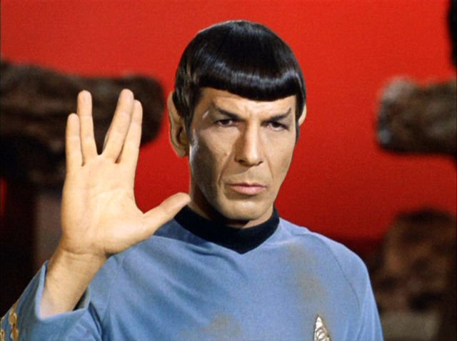 Happy Cosmic Birthday,  Leonard Nimoy. Thank you for the JOY. XOXO