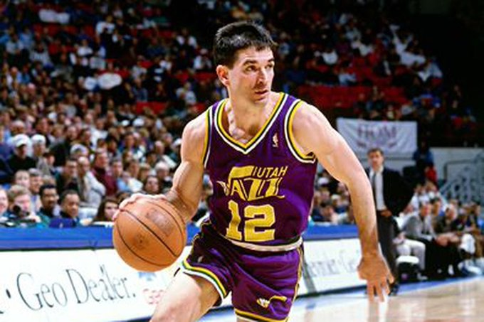 Sports world stand up and wish one of the best to ever do it Happy BDAY John Stockton
