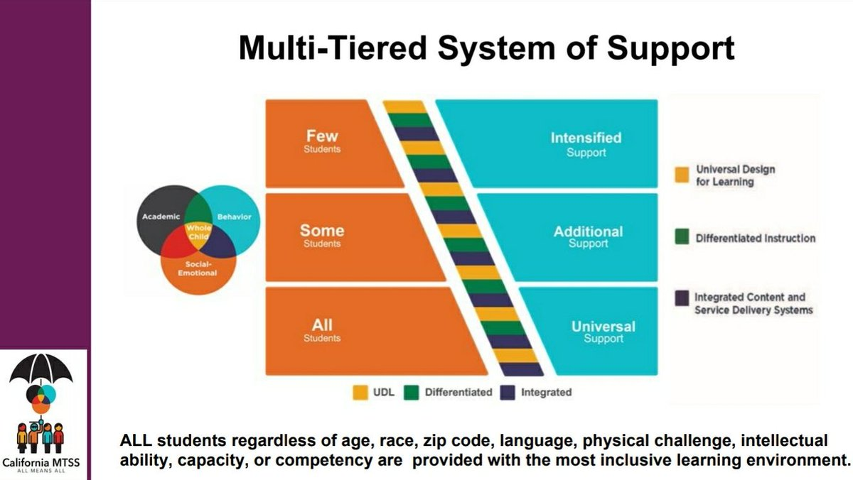 Language Supports Academic And Social >> Cdeonesystem On Twitter All Students Need Academic Behavioral