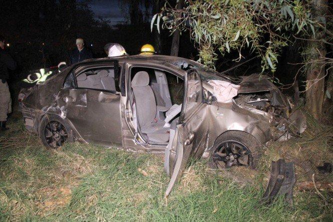 Región | Grave accidente en el cruce de rutas provinciales 1 y 4