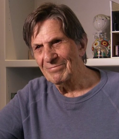 Happy birthday to the late Leonard Nimoy!