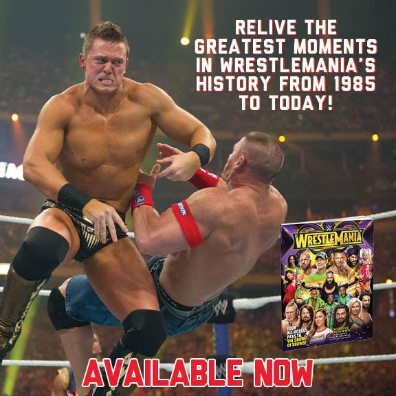 @mikethemiz gets RESPECT for his #WrestleMania XXVII win. Plus, whats at stake on April 8th in New Orleans? Get the Official @WrestleMania 34 Collectors Edition right now! wwe.me/vHYXL8